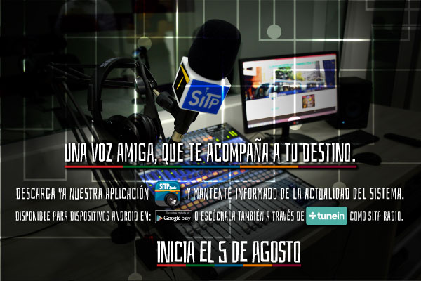 Descarga nuestra aplicaci�n SITP Radio. Disponible en android