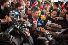 Imagen: Rueda de prensa Rafael pardo