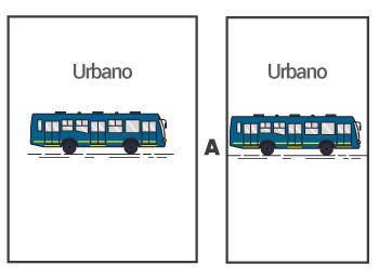 Bus urbano a bus urbano