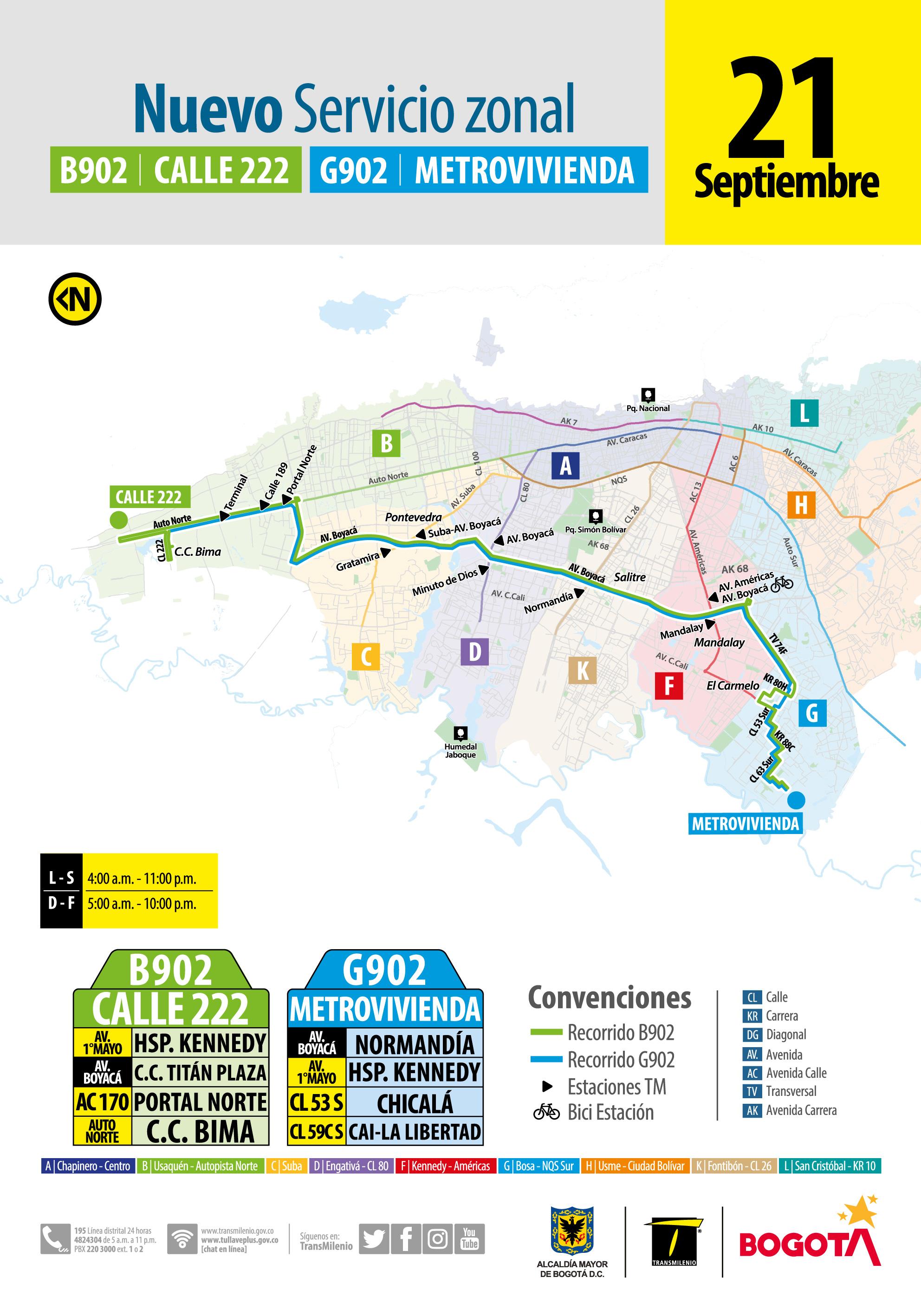 Nuevo Servicio Zonal Que Conectara El Sur Con El Norte De La Capital
