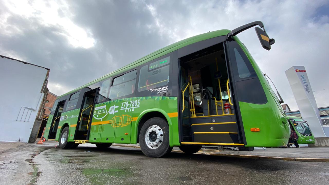 Nuevo bus eléctrico