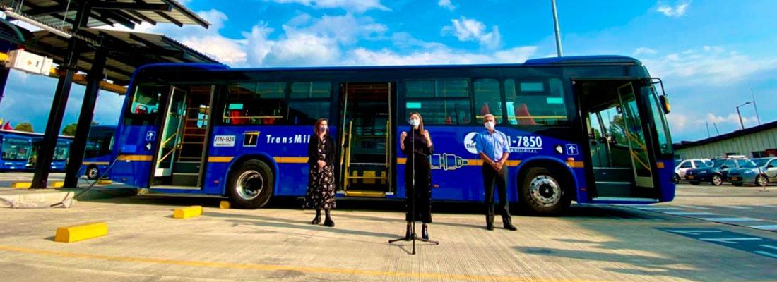596 buses eléctricos nuevos