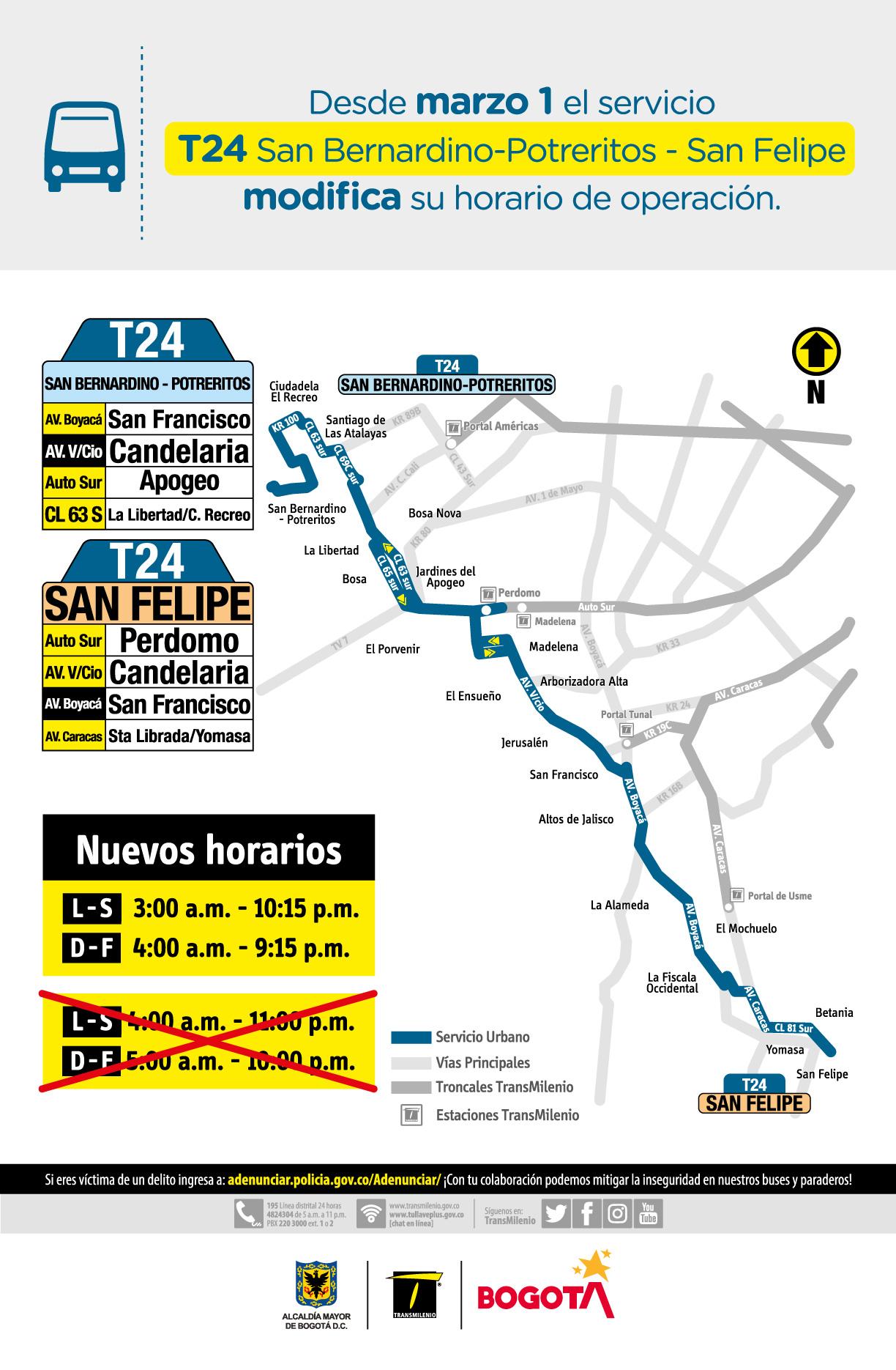 T24 San Bernardino - Potreritos - San Felipe
