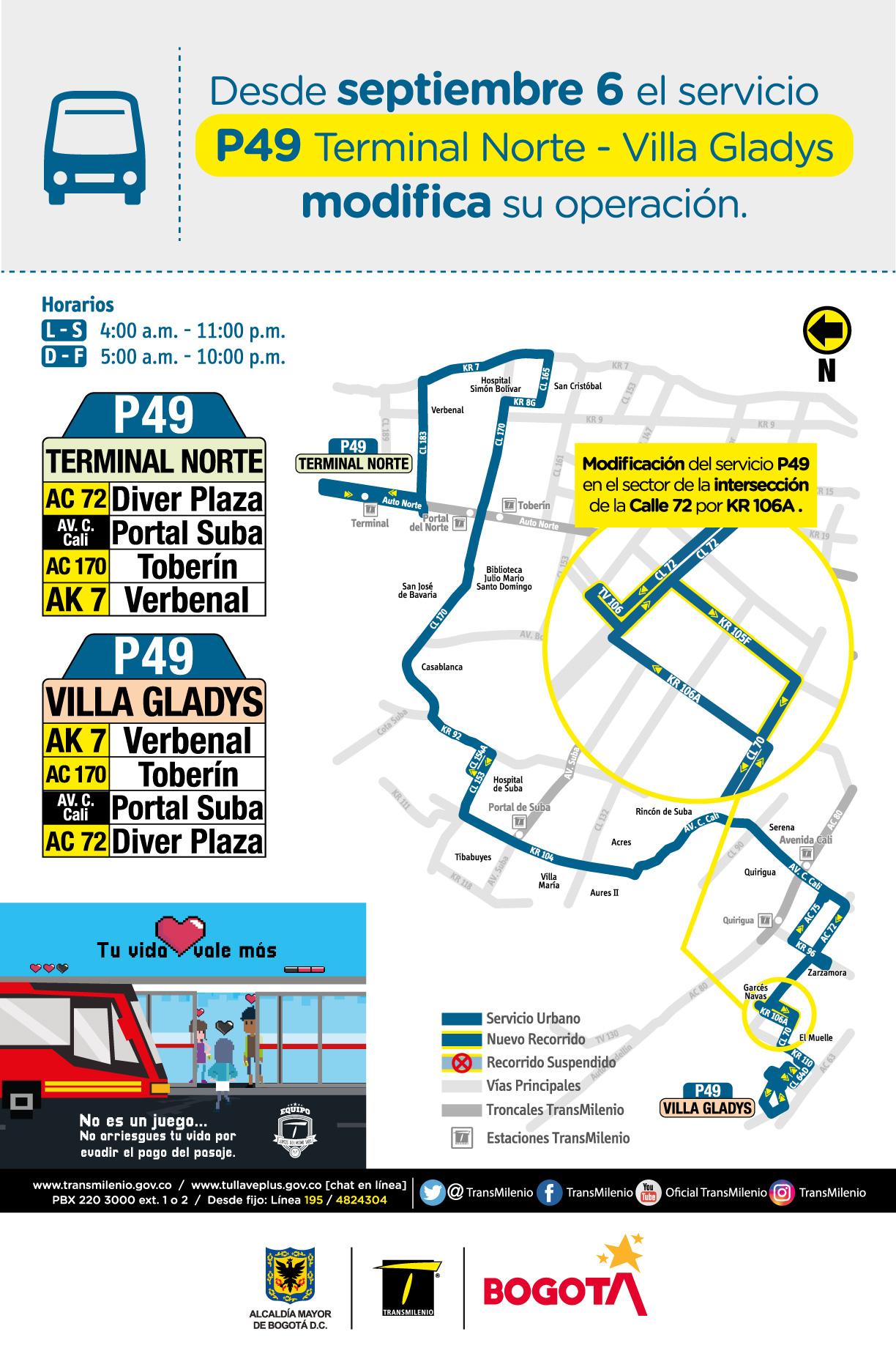 P49 Terminal Norte - Villa Gladys
