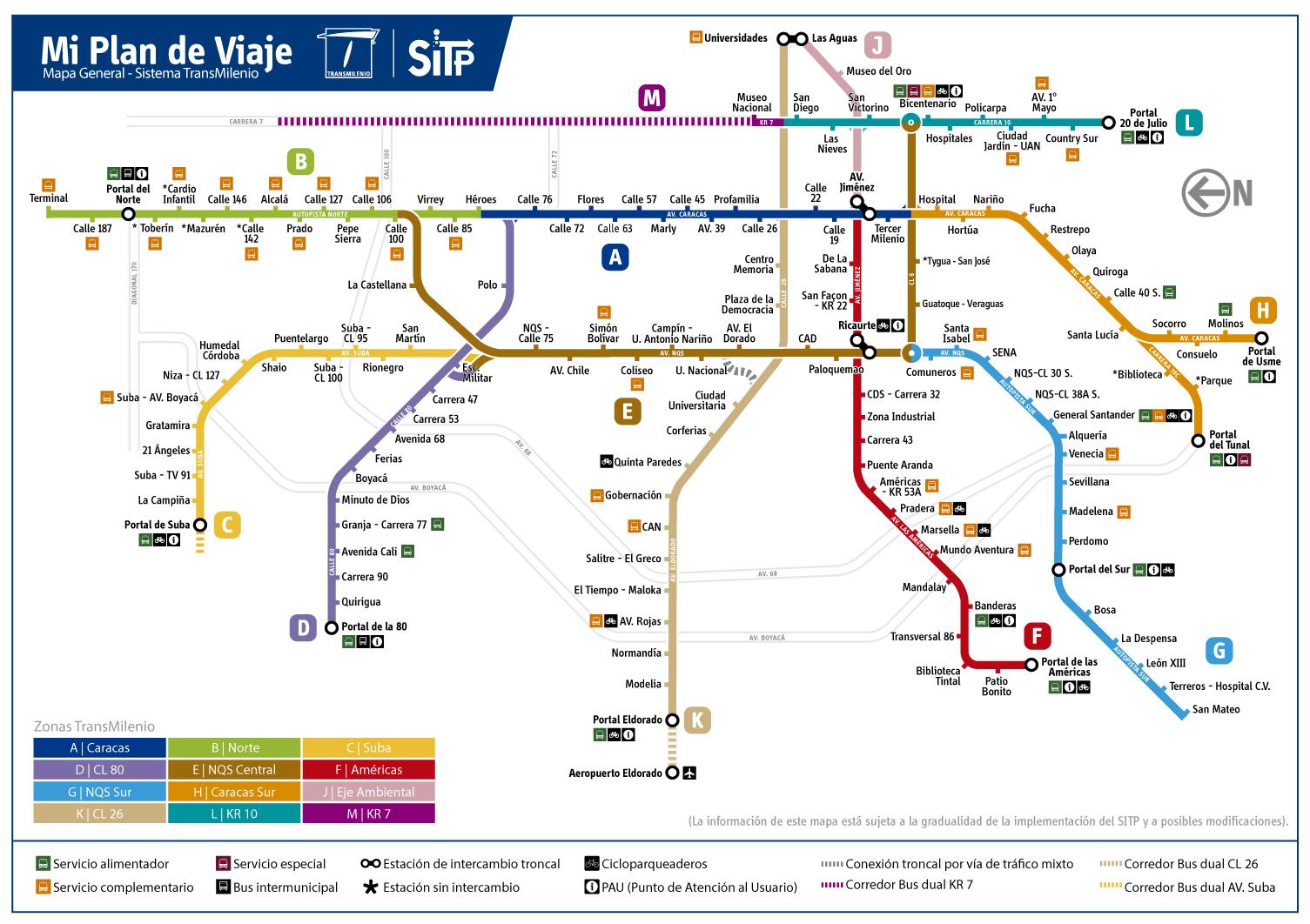 Mapas Transmilenio